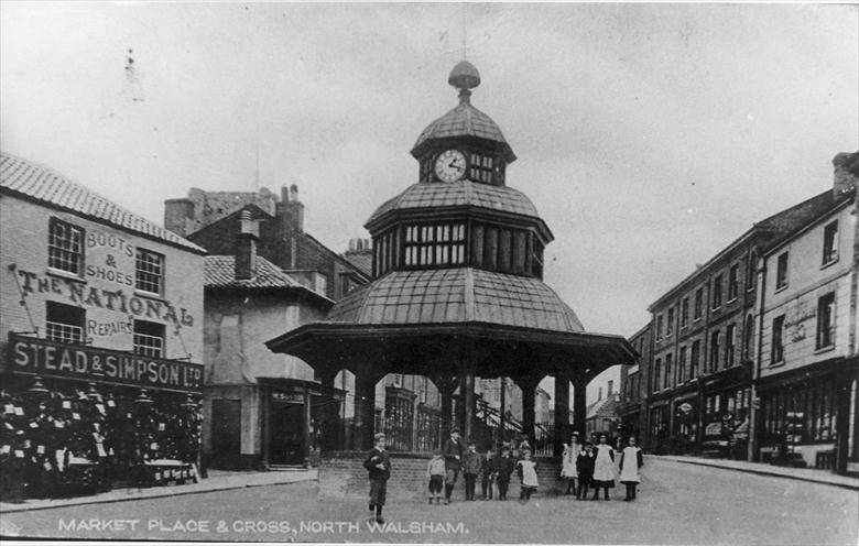 North Walsham Market Cross - early 1900s