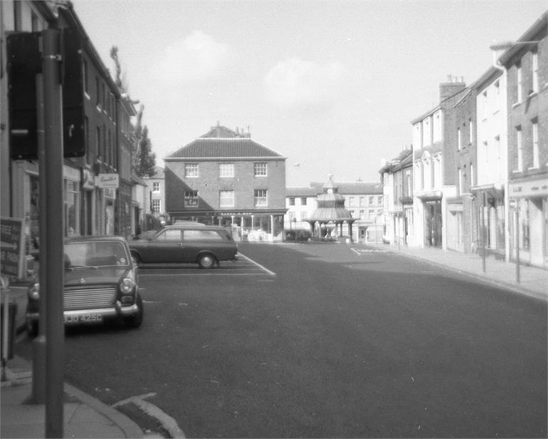 Photograph. Market Place, North Walsham. 1971. (North Walsham Archive).
