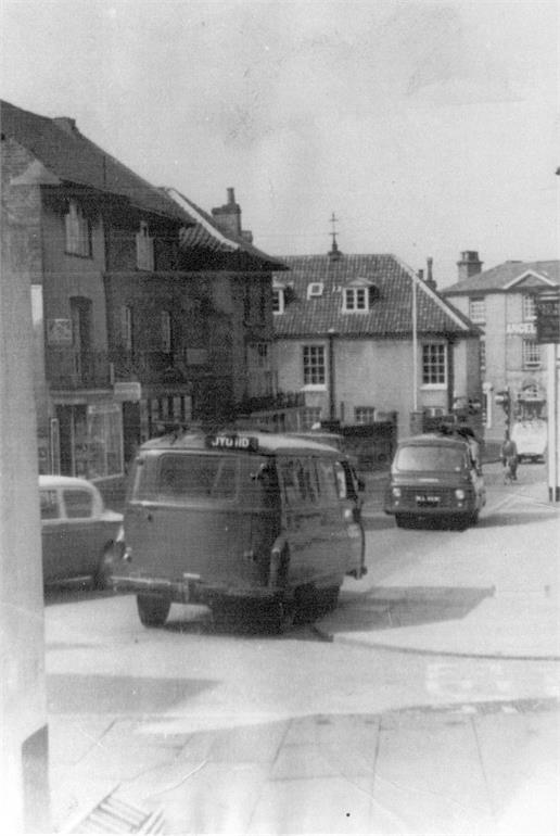 Photograph. Market Street c1970 (North Walsham Archive).