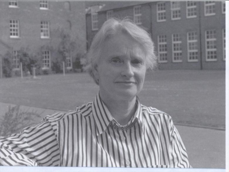 Photograph. Miss Molly Whitworth, appointed Principal of Paston Sixth Form College, 1990. Formerly acting Head of North Walsham Girls' High School from 1976 to 1984. (North Walsham Archive).