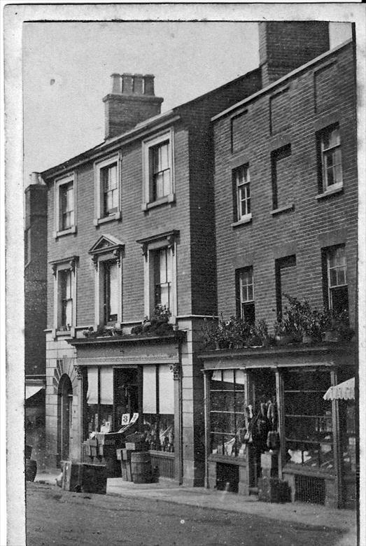 Photograph. North Side Market Place, North Walsham. Photo G.McLean (North Walsham Archive).