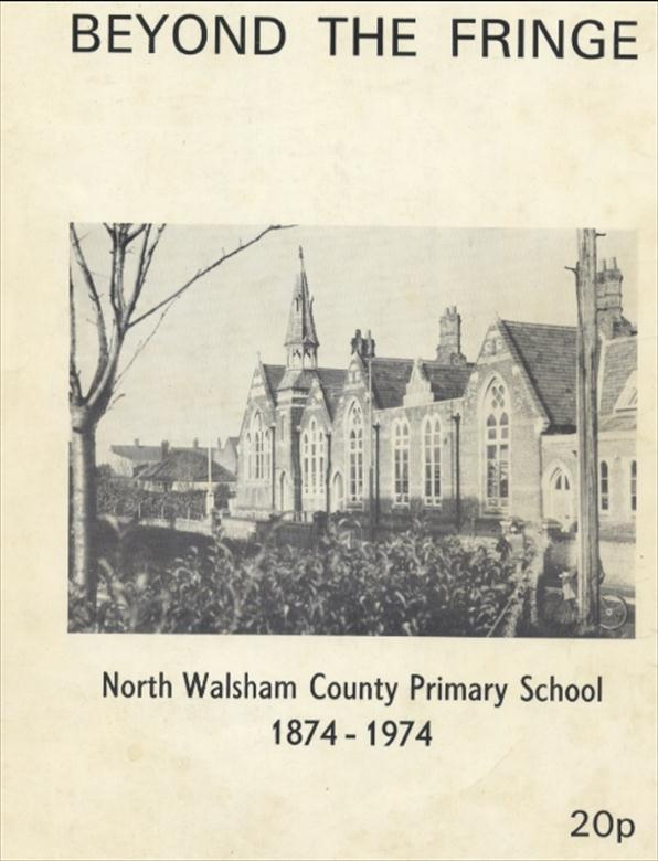 Photograph. North Walsham County Primary School Manor Road. Victorian buildings. (North Walsham Archive).