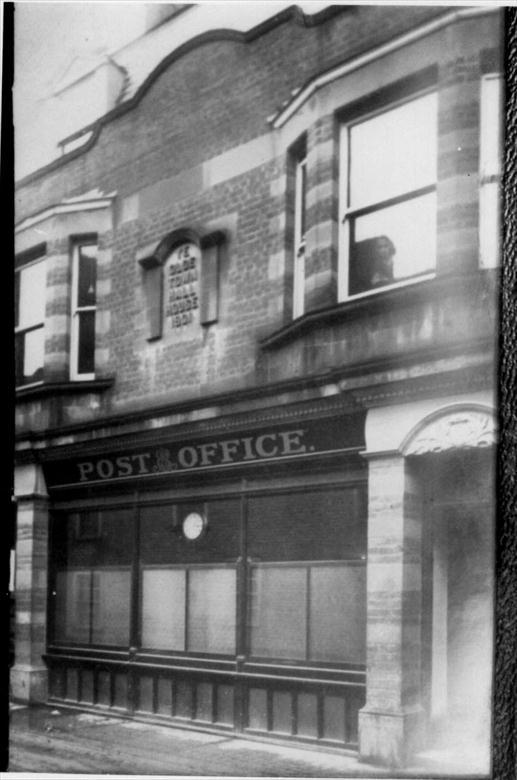 Photograph. The old Post Office in Kings Arms Street which served from 1908 to 1966. (North Walsham Archive).
