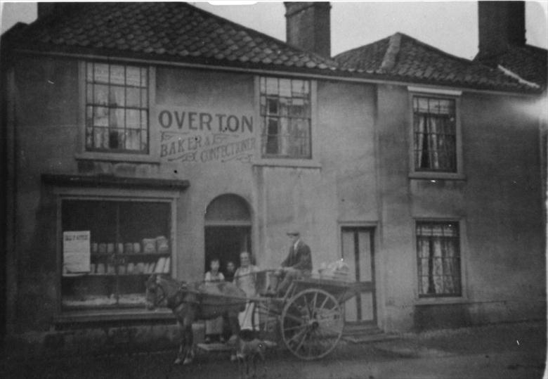 Photograph. Overton's Bakery (later Fayers), Nelson Street, North Walsham. Later 19 Mundesley Road (North Walsham Archive).