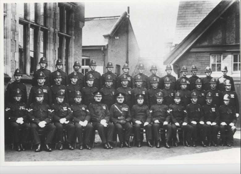 Photograph. Police, North Walsham Division (North Walsham Archive).