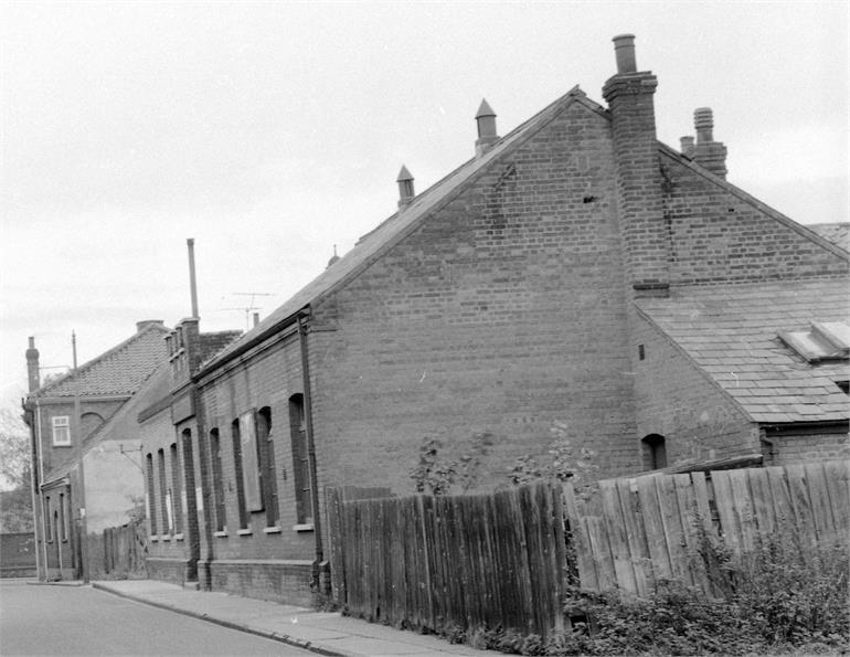 Photograph. Salvation Army Hall, Hall Lane. (North Walsham Archive).