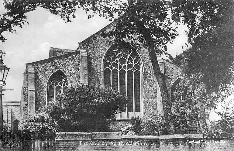Photograph. St. Nicholas' Church, North Walsham. (North Walsham Archive).