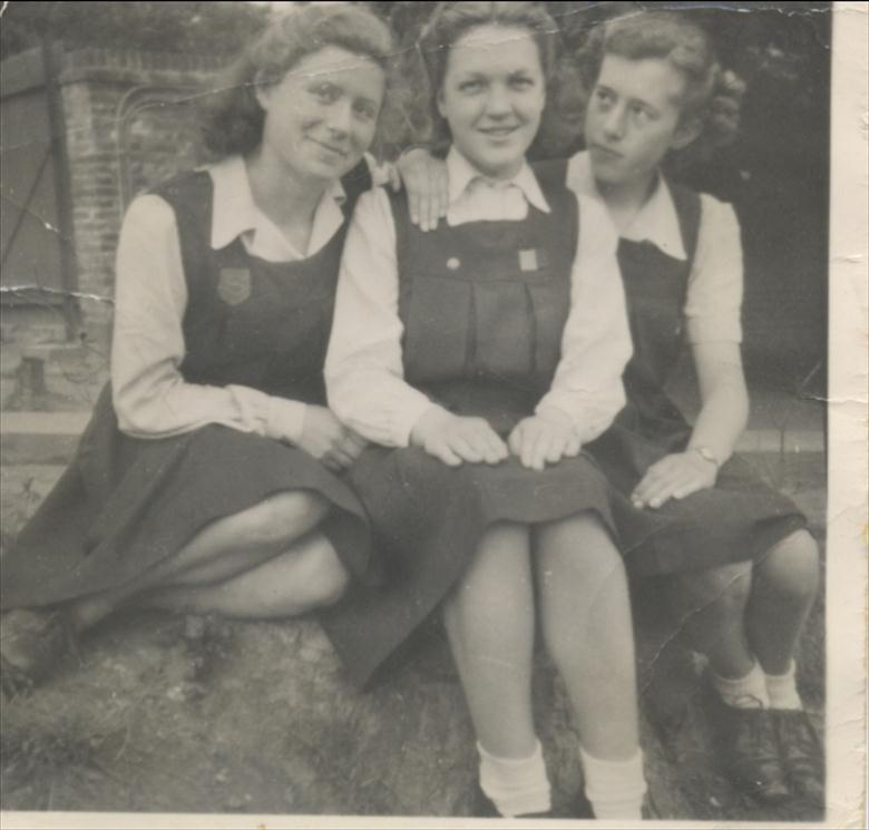 Photograph. Uniform N.W.G.H.S. 1940's (North Walsham Archive).