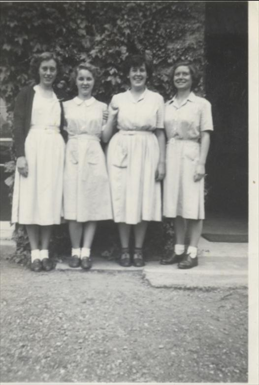 Photograph. Uniform N.W.G.H.S. 1950's (North Walsham Archive).
