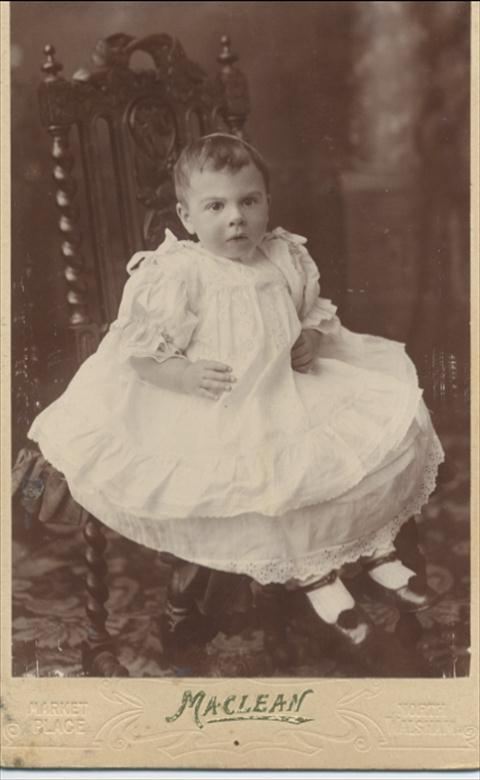 Photograph. Winifred Alice Smith 1904 ..... 2004 (North Walsham Archive).