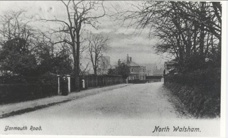 Photograph. Yarmouth Road. (North Walsham Archive).