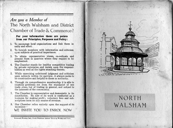 Official Guide to North Walsham 1955